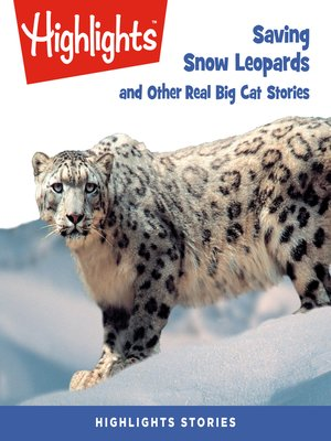 cover image of Saving Snow Leopards and Other Real Big Cat Stories