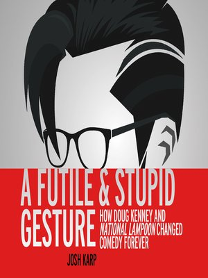 cover image of A Futile and Stupid Gesture