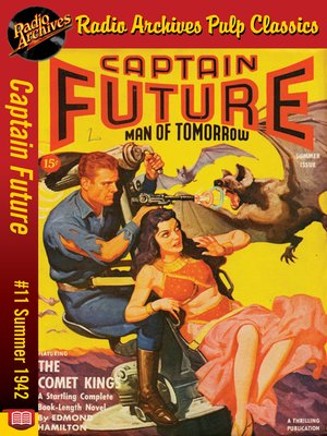 cover image of Captain Future #11