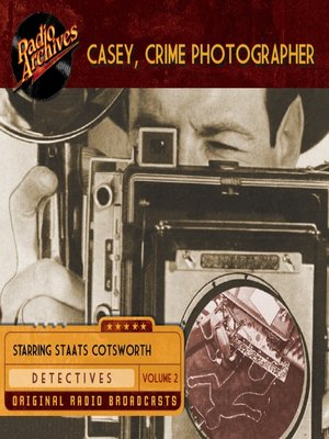 cover image of Casey, Crime Photographer, Volume 2
