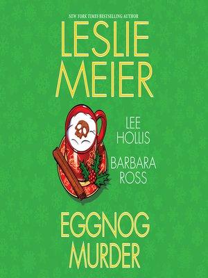 cover image of Eggnog Murder