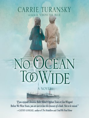 cover image of No Ocean Too Wide
