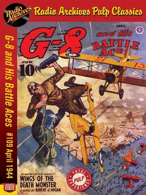 cover image of G-8 and His Battle Aces #109