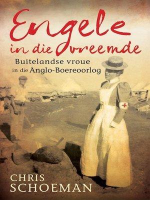cover image of Engele in die vreemde