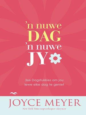 cover image of n Nuwe dag, 'n nuwe jy