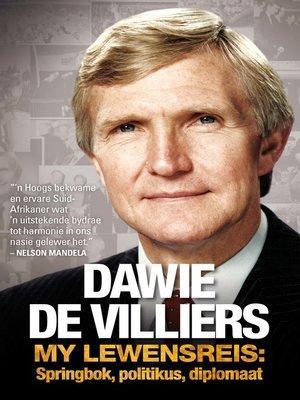 cover image of Dawie de Villiers