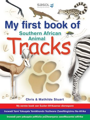 cover image of My First Book of Southern African Animal Tracks