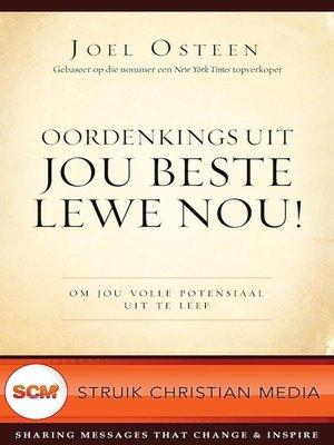 cover image of Oordenkings uit Jou beste lewe nou