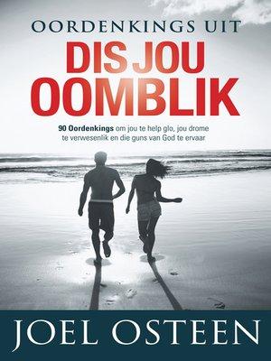 cover image of Oordenkings uit Dis jou oomblik