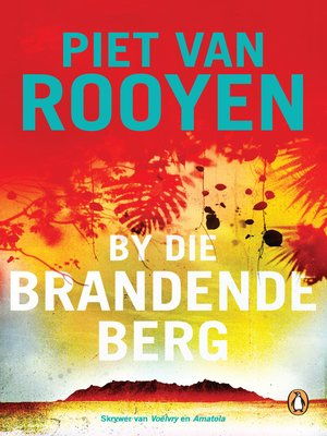 cover image of By die brandende berg