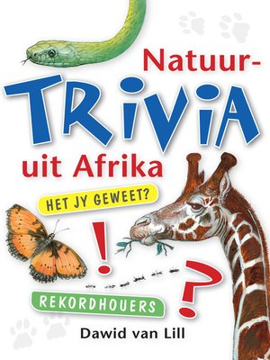 cover image of Natuurtrivia Uit Afrika