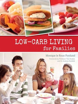 cover image of Low-carb Living for Families