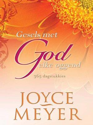 cover image of Gesels met God elke oggend