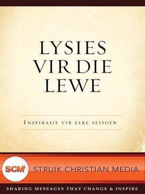 cover image of Lysies vir die lewe
