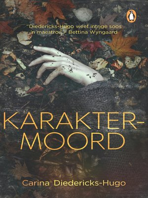 cover image of Karaktermoord