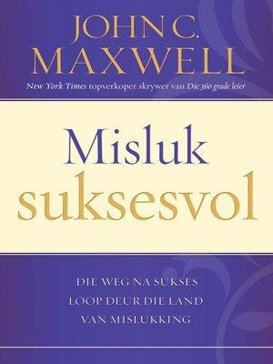 cover image of Misluk suksesvol