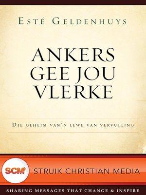 cover image of Ankers gee jou vlerke