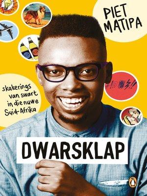 cover image of Dwarsklap