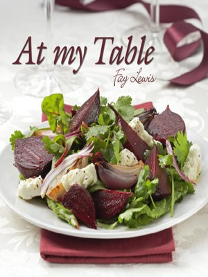 cover image of At My Table