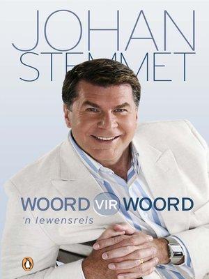 cover image of Woord vir Woord