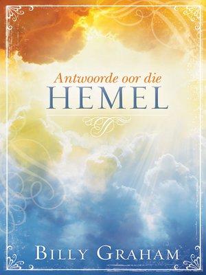 cover image of Antwoorde oor die hemel