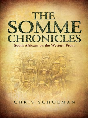 cover image of The Somme Chronicles
