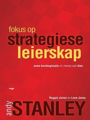cover image of Fokus op strategiese leierskap