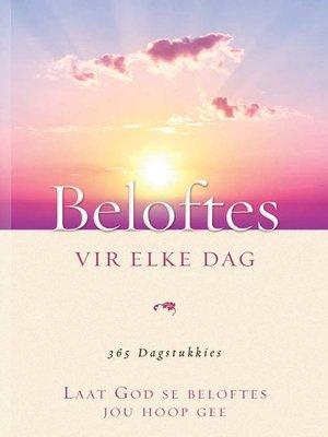 cover image of Beloftes vir elke dag