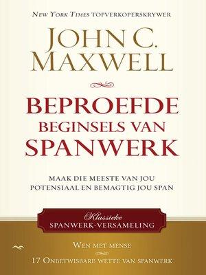 cover image of Beproefde beginsels van spanwerk