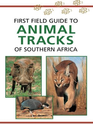 cover image of First Field Guide to Animal Tracks of Southern Africa