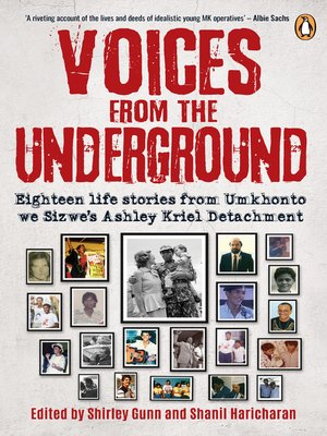 cover image of Voices from the Underground