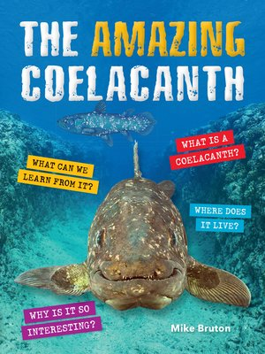 cover image of The Amazing Coelacanth
