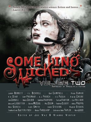 cover image of Something Wicked Anthology of Speculative Fiction