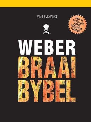 cover image of Weber Braaibybel