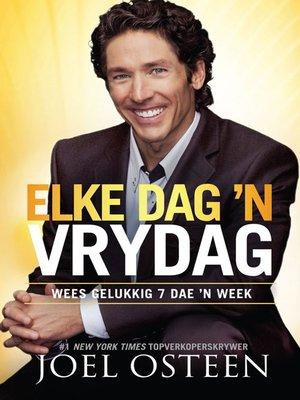 cover image of Elke Dag 'n Vrydag