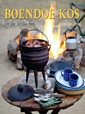 cover image of Boendoe-kos vir die Afrika-bos
