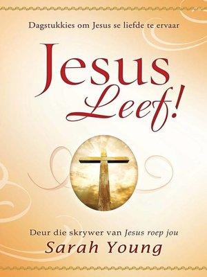 cover image of Jesus leef!