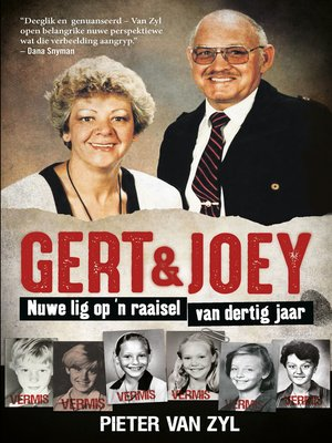 cover image of Gert & Joey