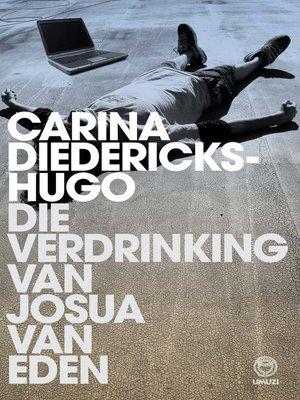 cover image of Die verdrinking van Josua van Eden