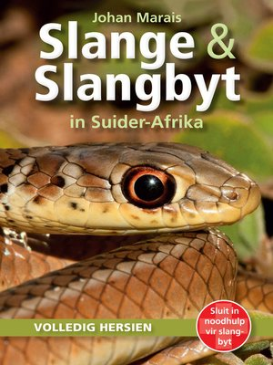 cover image of Slange & Slangbyt in Suider-Afrika