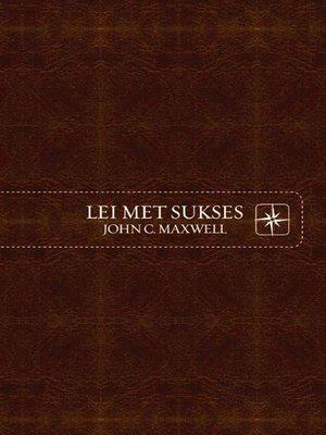cover image of Lei met sukses