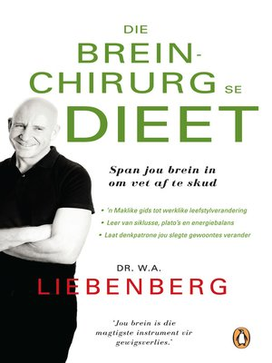 cover image of Die breinchirurg se dieet