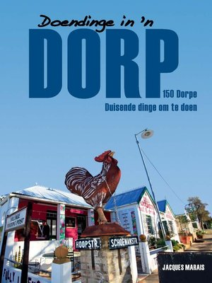 cover image of Doendinge in 'n Dorp