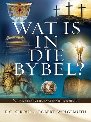 cover image of Wat is in die Bybel