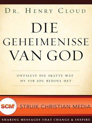 cover image of Die geheimenisse van God