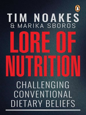 cover image of Lore of Nutrition