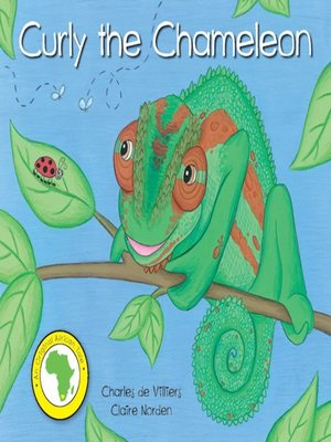 cover image of Curly the Chameleon