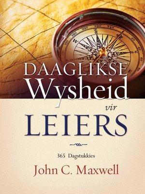 cover image of Daaglikse wysdheid vir leiers