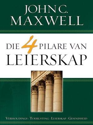 cover image of Die 4 Pilare van leierskap