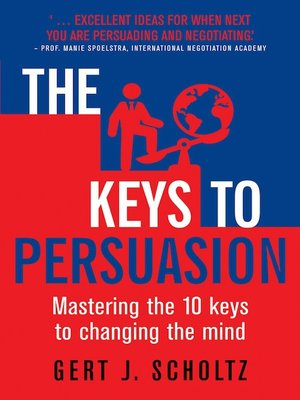 cover image of The Keys to Persuasion